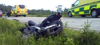 Man omkom i mopedolycka