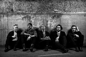 Från vänster: Rickard Persson, Erik Löjdmark, Johan Fahlberg, Martin Block, Marcus Jonsson. Bild: Pressbild