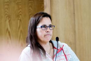De interna diskussionerna inom partiet bidrog till att Helena Englund (S) avstod från att rösta.