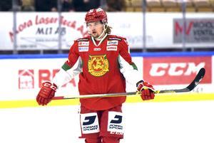 Viktor Amnér hoppas på fyra raka segrar mot Leksand.