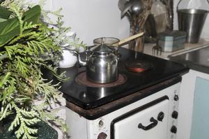 ...medan den nya köksdelen ligger i Ösmo.