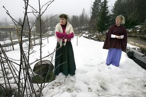 Ingela Enström spelar svägerskan Nathalia och Ann-Katrin Thorell gestaltar Olga i Tjechovs Tre systrar.