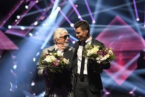 Owe Thörnqvist och Robin Bengtsson gick vidare direkt till finalen efter Melodifestivalens tredje deltävling på lördagskvällen.