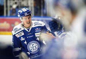 Martin Grönberg jublar efter 3-1 målet mot Växjö.