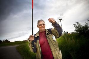 Barbro Lundquist har fiskat sedan 1970-talet och har många knep att lära ut.