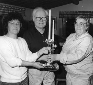 1988 fick Fanny och Karl-Erik Östberg en gåva från Elin Jonsson.