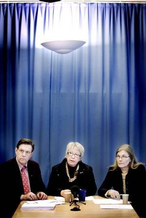 FEGA. Landstingsledningen orkar inte göra nånting, mer än att höja skatten. Björn Brink, Ann Margret Knapp och Maria Aspers passar. De borde avgå.
