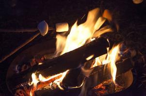 Det är mumma med grillade marshmallows.