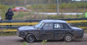 Valter Persson, Malungs MK, hade en betryggande ledning hela finalen i klassen Dam/Veteran.