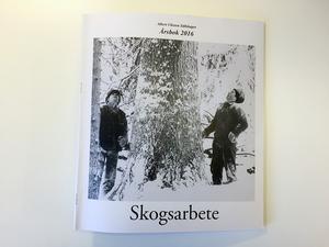 Erik Eriksson har tagit omslagsbilden till Albert Viksten-sällskapets årsbok 2016.