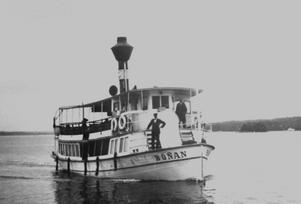 Bönan var den femte ångbåten som gick mellan Sehlbergs brygga och grosshandlarnas bryggor på Norrlandet.
