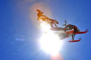 Daniel Bodin ordnar skoteruppvisning som avslutning vid Ski & Rock.