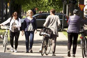 Förhöjda cykelöverfarter ska förbättra framkomligheten och säkerheten för cyklister på Nygatan.