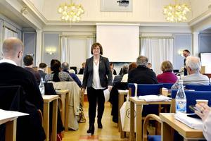 – Vi står inför stora utmaningar och dessvärre är det återigen ekonomin som står i centrum, sammanfattade landstingsrådet Elisabet Strömqvist (S) när hon debatterade landstingsplanen.