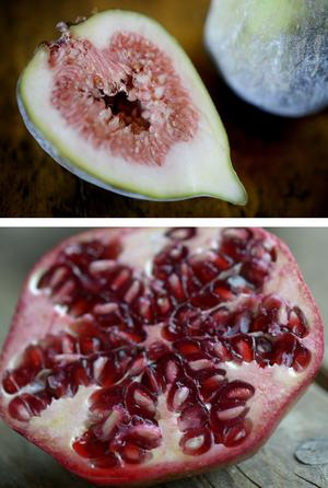 Fikon och granatäpple