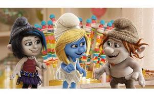 """Smurfan hamnar i dåligt sällskap i """"Smurfarna 2"""". Hennes svenska röst görs av ingen mindre än Loreen. Foto: Courtesy of Sony Pictures Animat"""