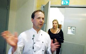 Erik Esteby är kökschef på Holiday Club. Han kommer servera EU-ministrarna mat lagad av lokala råvaror från Jämtland.