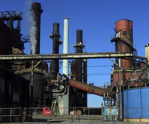 AM Warren Coke Plant utanför Youngstown