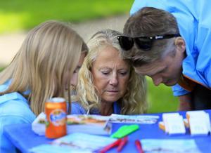 Helena, Slavinska och Ann Lewerentz. Foto: Leif Gustavsson