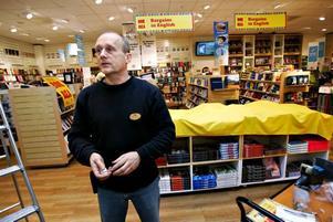 Böcker om historia tror Karl Enström på Akademibokhandeln blir årets storsäljare på rean.
