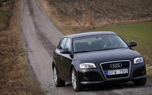 2008 fick Audi A3 en diskret ansiktslyftning och nu har även motorprogrammet uppdaterats.  Foto: Rolf Gildenlöw