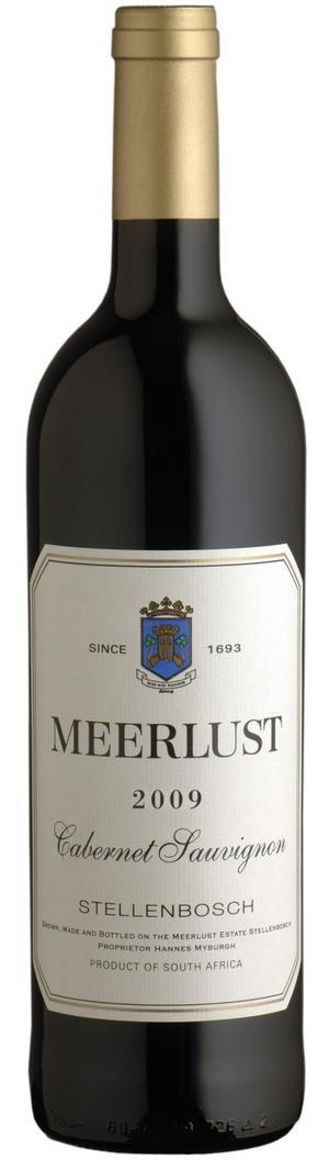 Meerlust är en av pionjärerna vad gäller högkvalitativa, franskinspirerade, viner i Sydafrika. Det här cabernet sauvignon-vinet visar att man ännu står sig väl i konkurrensen