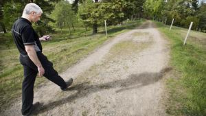 """Varierad Motion. """"Jag har både varit uppe i träd och hivat mig ned för klippväggar. För mig är det ett bra sätt att motionera på eftersom jag älskar naturen"""", säger Niclas Törnberg."""