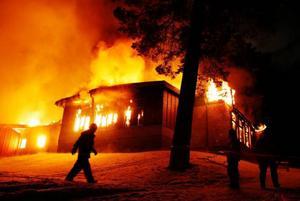 Det var 22 januari 2008 som delar av Racklöfska brann.