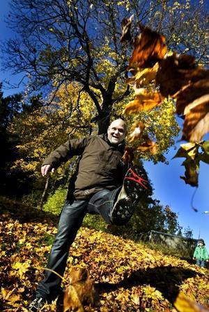 """EN NY MÄNNISKA. I dag är Lars Eliasson helt drogfri sedan många år, men fort                              farande är det en dag i taget som gäller för honom: """"Man måste vara ödmjuk"""", säger han.  Foto: Britt Mattsson"""