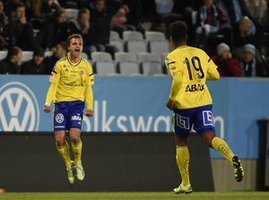 Shpetim Hasani och Noah Sonko Sundberg – GIF Sundsvalls målskyttar när laget skrällde borta mot Malmö FF.