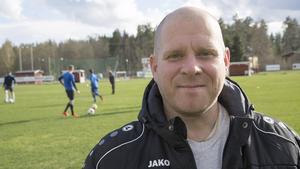 Stefan Holm, nöjd tränare för Norbergs AIF.
