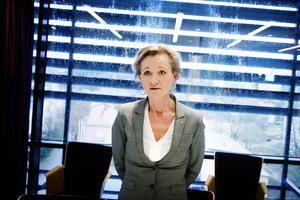 Boel Godner (S) är nöjd med att hennes uttalade ståndpunkt om ordning och reda gett resultat i ekonomin som är bättre än någonsin för Södertälje.