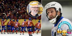 Ola Johansson (infälld) ligger bakom ett av Joakim Hedqvists mest udda och speciella minnen från bandykarriären. Bild: Martin Henriksson (TT) / Peter Axman / Andreas Tagg