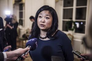 Jessica Polfjärd (M), riksdagsledamot för Västmanland, har nämnts som ny talmanFoto: TT