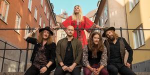 Lisa Lystam Family Band. Foto: Jon Alexandersson