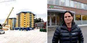 Mitthem väljer avvakta ett tag till med ett investeringsbeslut om bostadsbyggena i Byhöjden (andra etappen) och i Njurundabommen.