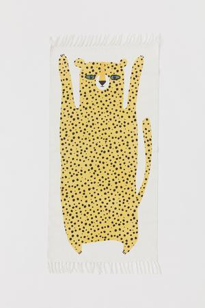 Bomullsmatta med motiv, 249 kronor på H&M Home.