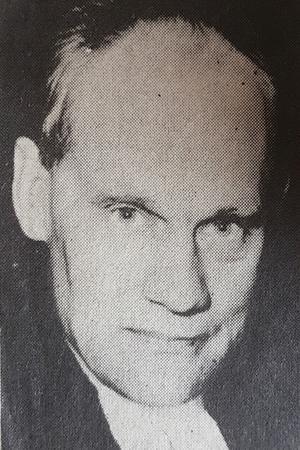 Domprosten och docenten Gustaf Adolf Danell 1975. Foto: Brusafors