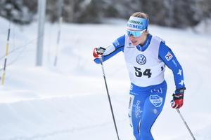 Jonna Sundling från IFK Umeå blev tvåa efter Frida Karlsson.