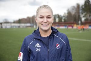 Jessica Hamrick är klar för Kvarnsveden.