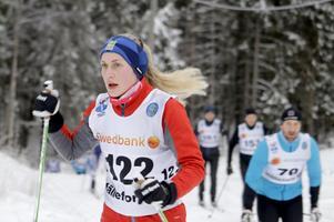 Hemmaåkaren Emma Bergkvist vann motionsklassen över fyra mil.