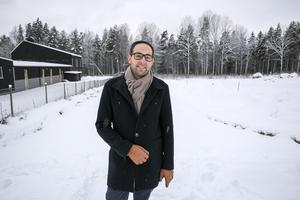 """""""Det verkar som att det fortfarande är stor efterfrågan på boende i Leksand"""", säger Sakarias Winberg."""