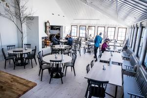 De centrala delarna av Sylarnas Fjällstation har blivit ljusare, öppnare och rymligare.