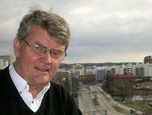 Anders Lif tycker till om Västerås flygplats framtid. Foto: Privat
