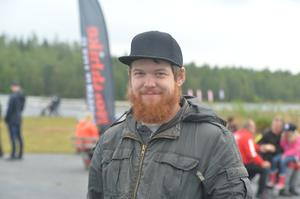 Jens Karlsson, 27 år, montör, Lindesberg.