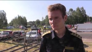 Räddningsledaren Johan Szymanski