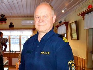 Sophögen i Nornskogen kan vara intressant för polisen ur flera aspekter, enligt kommunpolis Erik Gatu.