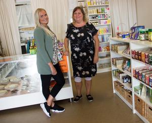 Om några veckor, från 1 september, lämnar Anna Granath över hälsokostbutiken till Lisa Alfredsson.