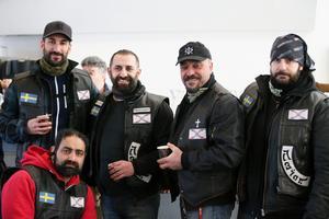 Assyrian Riders på plats.