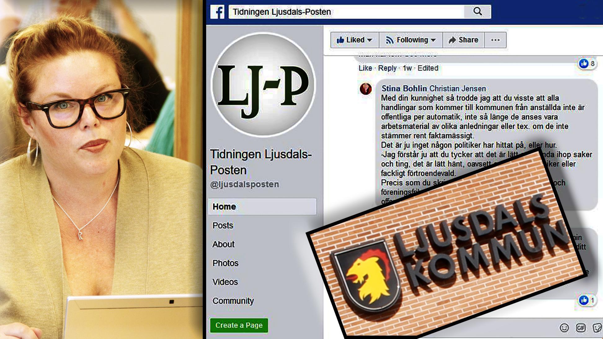 Otydligt om offentlighet i diskussion på facebook – nu förtydligar nämndordförande: